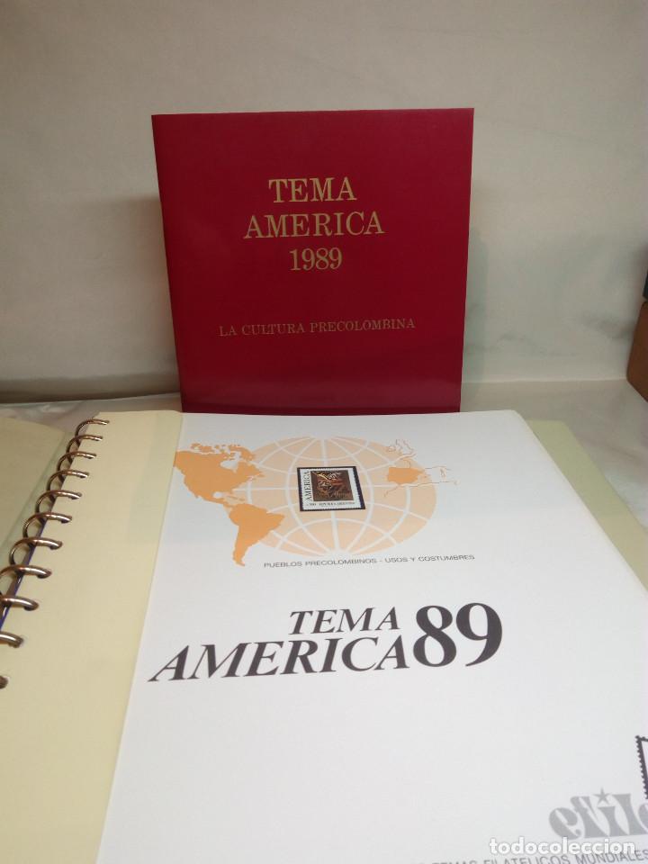 Sellos: COLECCIÓN AMÉRICA PRECOLOMBINA - SELLOS EFILCAR EN ÁLBUM PARDO Y LIBRITO EXPLICATIVO - Foto 3 - 130574014