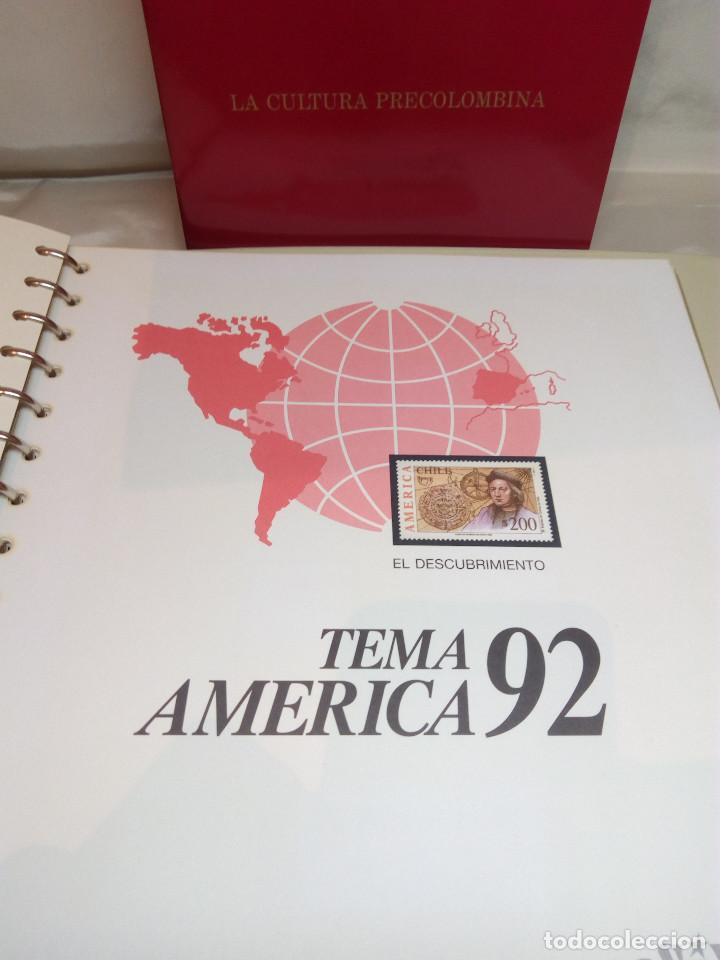 Sellos: COLECCIÓN AMÉRICA PRECOLOMBINA - SELLOS EFILCAR EN ÁLBUM PARDO Y LIBRITO EXPLICATIVO - Foto 10 - 130574014