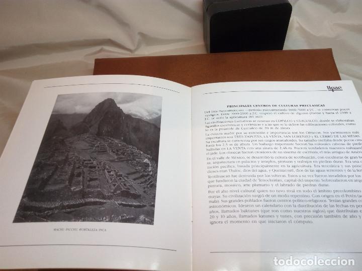 Sellos: COLECCIÓN AMÉRICA PRECOLOMBINA - SELLOS EFILCAR EN ÁLBUM PARDO Y LIBRITO EXPLICATIVO - Foto 16 - 130574014