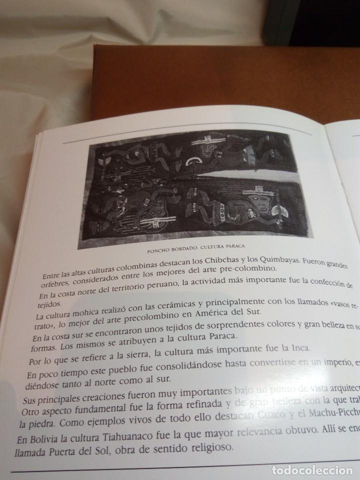 Sellos: COLECCIÓN AMÉRICA PRECOLOMBINA - SELLOS EFILCAR EN ÁLBUM PARDO Y LIBRITO EXPLICATIVO - Foto 17 - 130574014