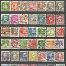 Briefmarken - DINAMARCA CONJUNTO DE SELLOS USADOS - 132927830
