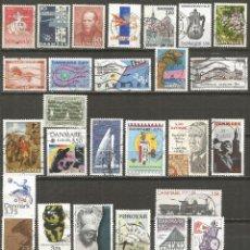 Briefmarken - DINAMARCA CONJUNTO DE SELLOS USADOS - 132927958