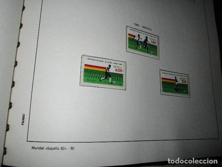 Sellos: 3 tomos ALBUM SELLOS completo MUNDIAL FUTBOL 82 TOMO 1 .2 Y 3 COMPLETO FILABO BUENA CONSERVACION - Foto 12 - 134025674