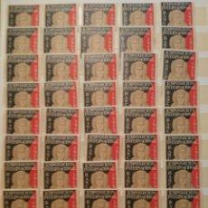 Sellos: LOTE DE 134 VIÑETAS EXPOSICION INTERNACIONAL BARCELONA 1929. Lote 135556194