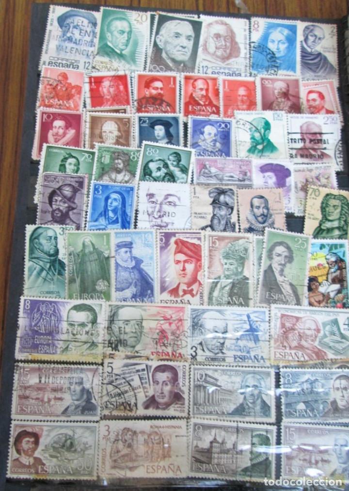 Sellos: Álbum de sellos españoles Los de las fotos - Foto 2 - 135609478