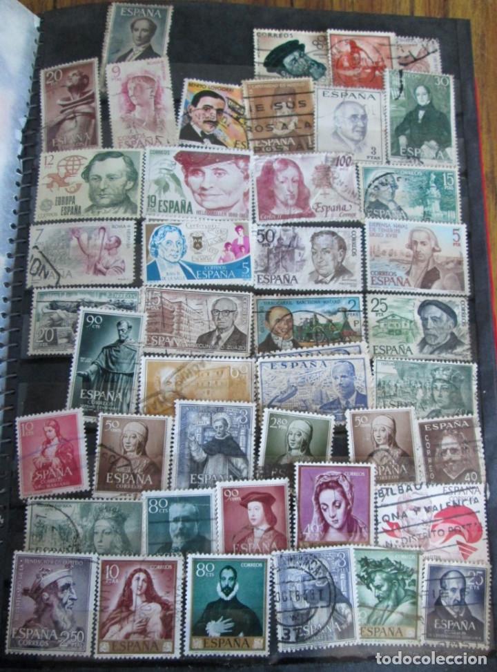 Sellos: Álbum de sellos españoles Los de las fotos - Foto 3 - 135609478
