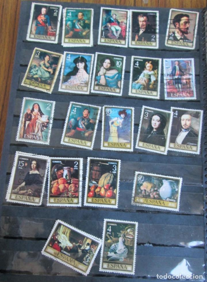 Sellos: Álbum de sellos españoles Los de las fotos - Foto 4 - 135609478