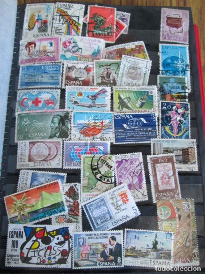 Sellos: Álbum de sellos españoles Los de las fotos - Foto 5 - 135609478