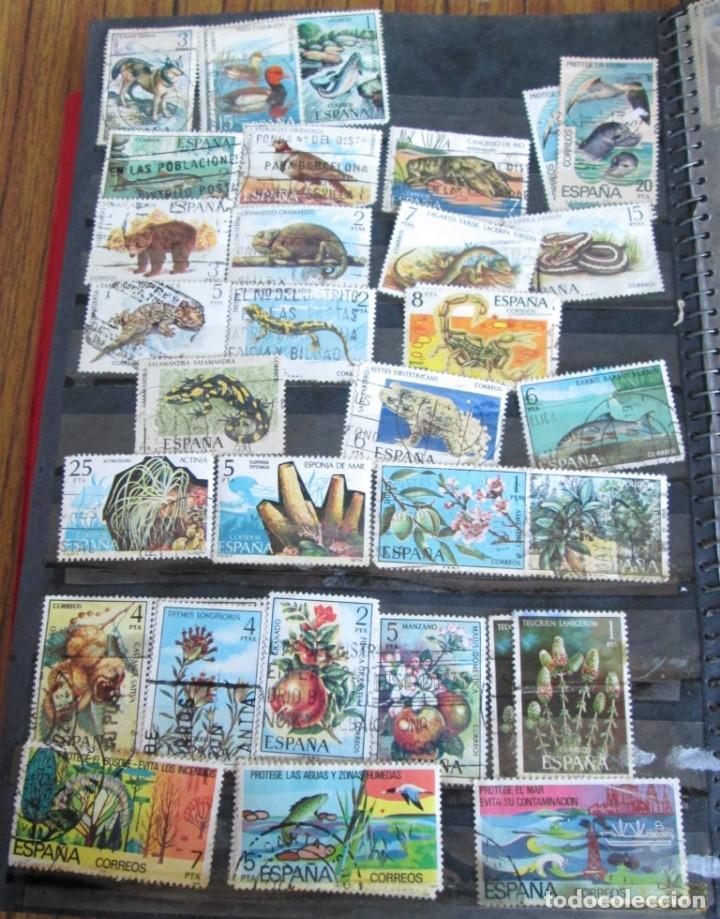 Sellos: Álbum de sellos españoles Los de las fotos - Foto 6 - 135609478