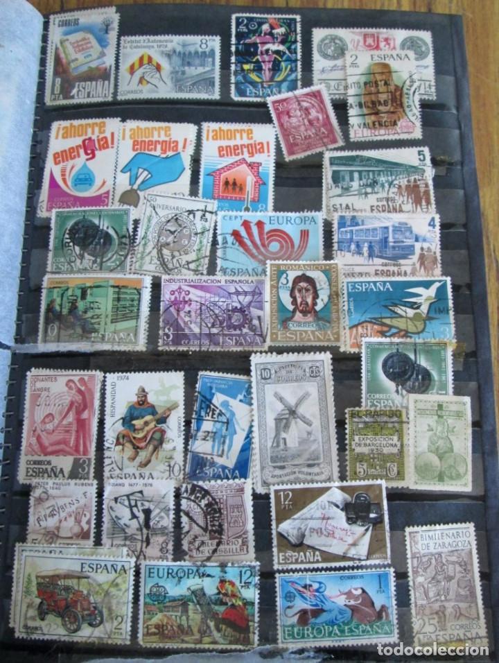 Sellos: Álbum de sellos españoles Los de las fotos - Foto 7 - 135609478