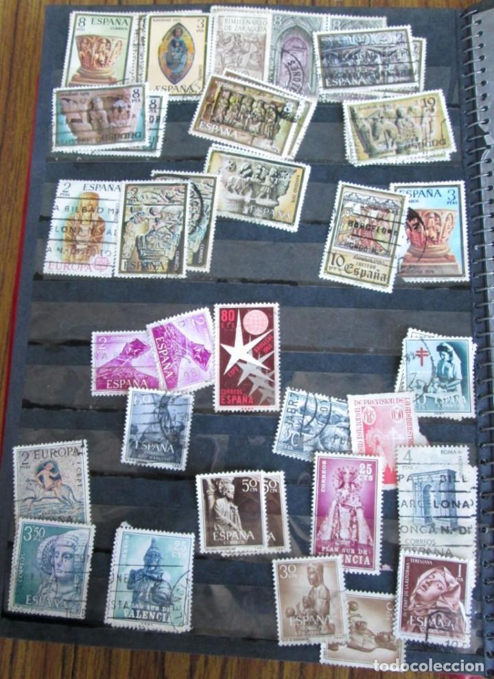 Sellos: Álbum de sellos españoles Los de las fotos - Foto 8 - 135609478