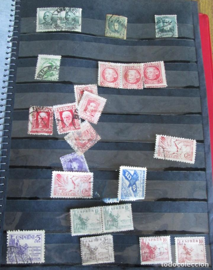 Sellos: Álbum de sellos españoles Los de las fotos - Foto 9 - 135609478