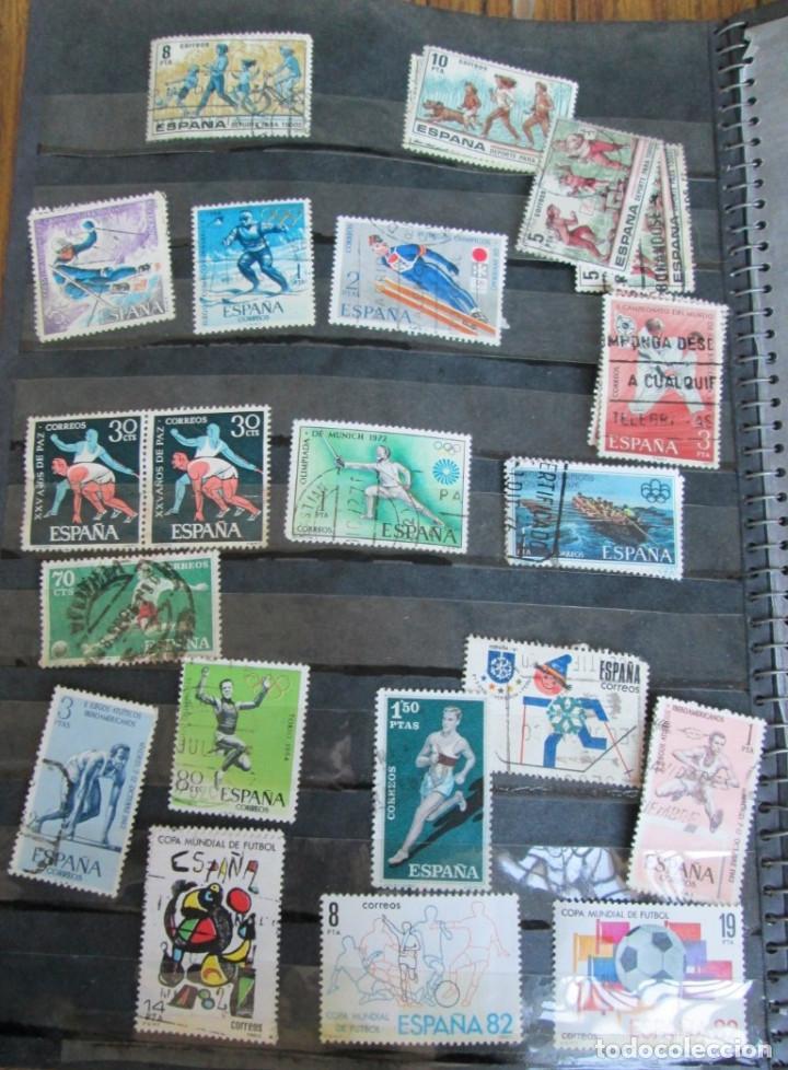 Sellos: Álbum de sellos españoles Los de las fotos - Foto 10 - 135609478