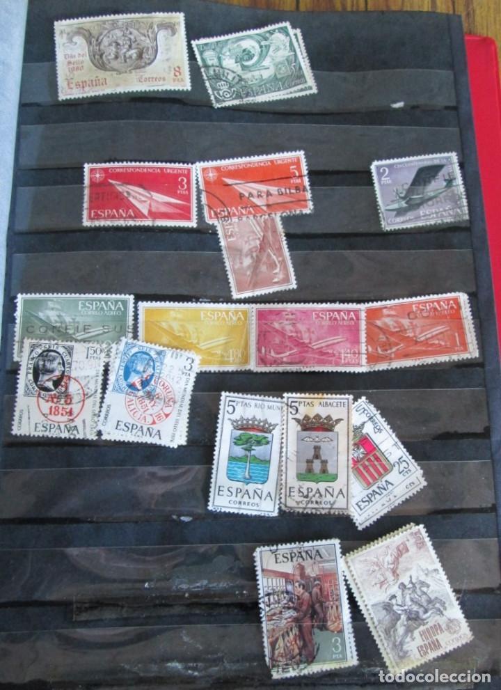 Sellos: Álbum de sellos españoles Los de las fotos - Foto 11 - 135609478
