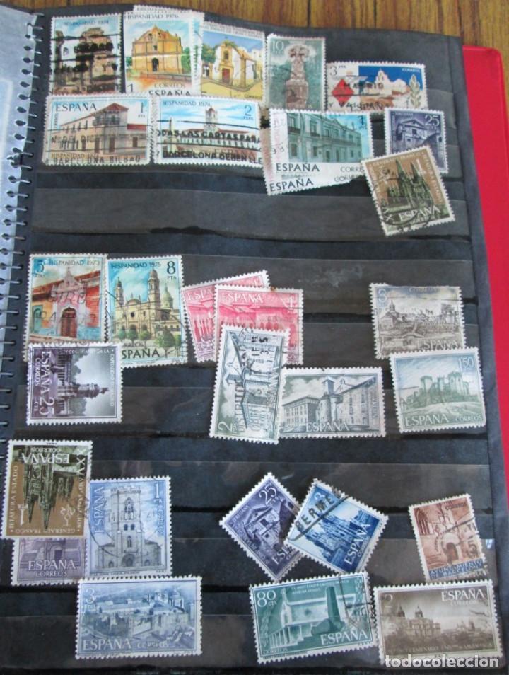 Sellos: Álbum de sellos españoles Los de las fotos - Foto 13 - 135609478