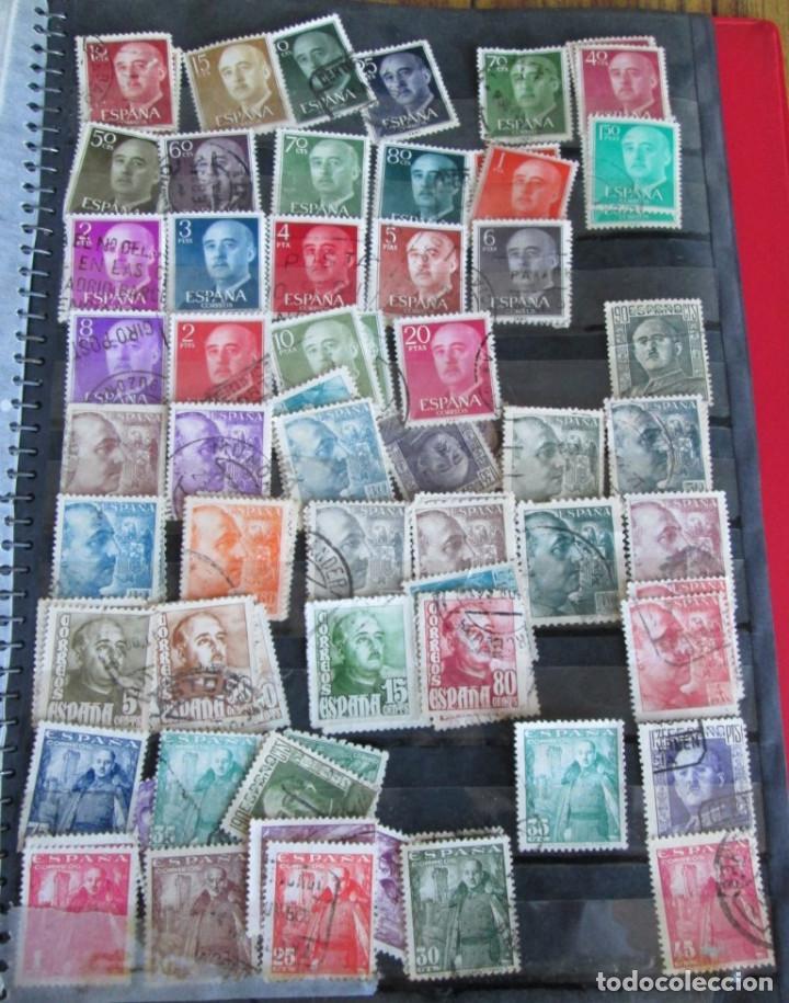 Sellos: Álbum de sellos españoles Los de las fotos - Foto 15 - 135609478