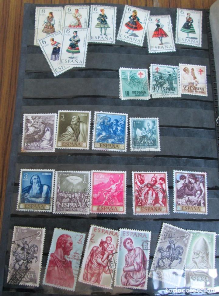 Sellos: Álbum de sellos españoles Los de las fotos - Foto 16 - 135609478