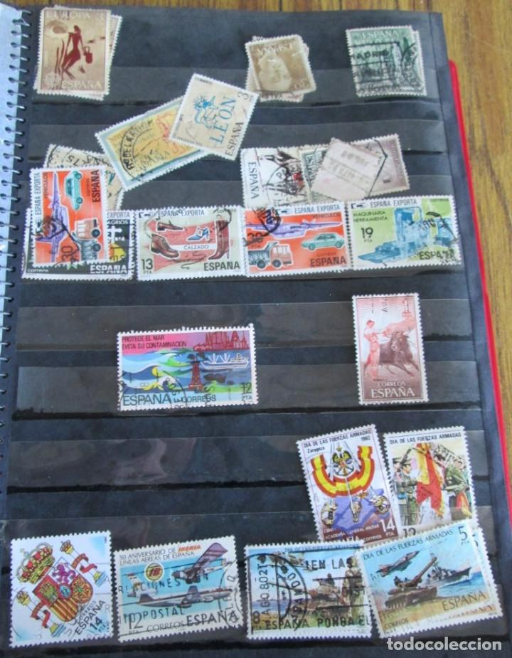Sellos: Álbum de sellos españoles Los de las fotos - Foto 17 - 135609478