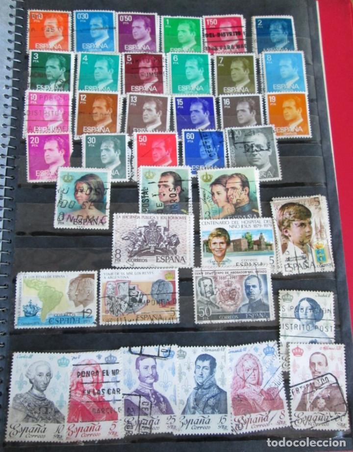 Sellos: Álbum de sellos españoles Los de las fotos - Foto 18 - 135609478