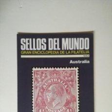 Sellos: SELLOS DEL MUNDO, GRAN ENCICLOPEDIA FILATELIA EDICIONES URBION- Nº 24 AUSTRALIA. Lote 136295010