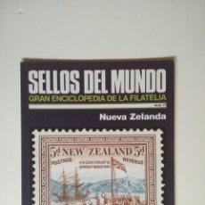 Sellos: SELLOS DEL MUNDO, GRAN ENCICLOPEDIA FILATELIA EDICIONES URBION- Nº 25 NUEVA ZELANDA. Lote 136295098