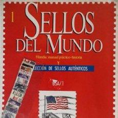 Sellos: SELLOS DEL MUNDO, ORBIS /FABRI- Nº 1 USA. Lote 136295250
