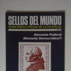 Sellos: SELLOS DEL MUNDO, GRAN ENCICLOPEDIA FILATELIA EDICIONES URBION- Nº 34 ALEMANIA DEMOCRATICA. Lote 136304278