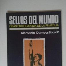 Briefmarken - SELLOS DEL MUNDO, GRAN ENCICLOPEDIA FILATELIA EDICIONES URBION- Nº 35 ALEMANIA DEMOCRATICA 2 - 136304374