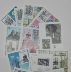 Selos: LOTE DE 12 PRUEBAS OFICIALES U HOJAS PRUEBA FILATELICAS. Lote 139517646