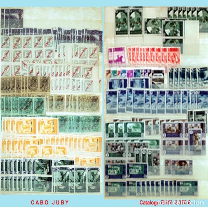 Sellos: GRAN CLASIFICADOR CON PEQUEÑO STOCK SELLOS y SERIES de EX-COLONIAS ESPAÑOLAS Nuevo-Usado.Catº+36.000 - Foto 2 - 140907726