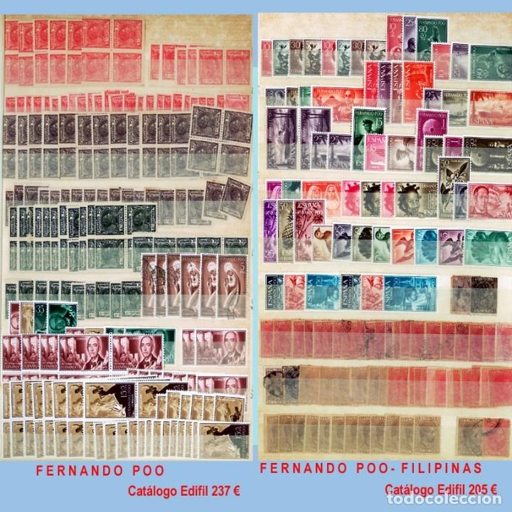 Sellos: GRAN CLASIFICADOR CON PEQUEÑO STOCK SELLOS y SERIES de EX-COLONIAS ESPAÑOLAS Nuevo-Usado.Catº+36.000 - Foto 4 - 140907726