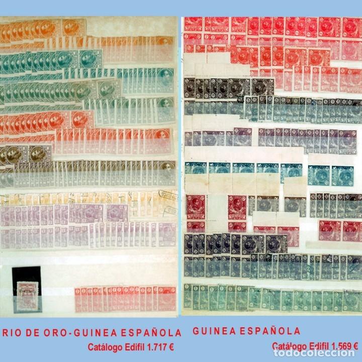 Sellos: GRAN CLASIFICADOR CON PEQUEÑO STOCK SELLOS y SERIES de EX-COLONIAS ESPAÑOLAS Nuevo-Usado.Catº+36.000 - Foto 6 - 140907726