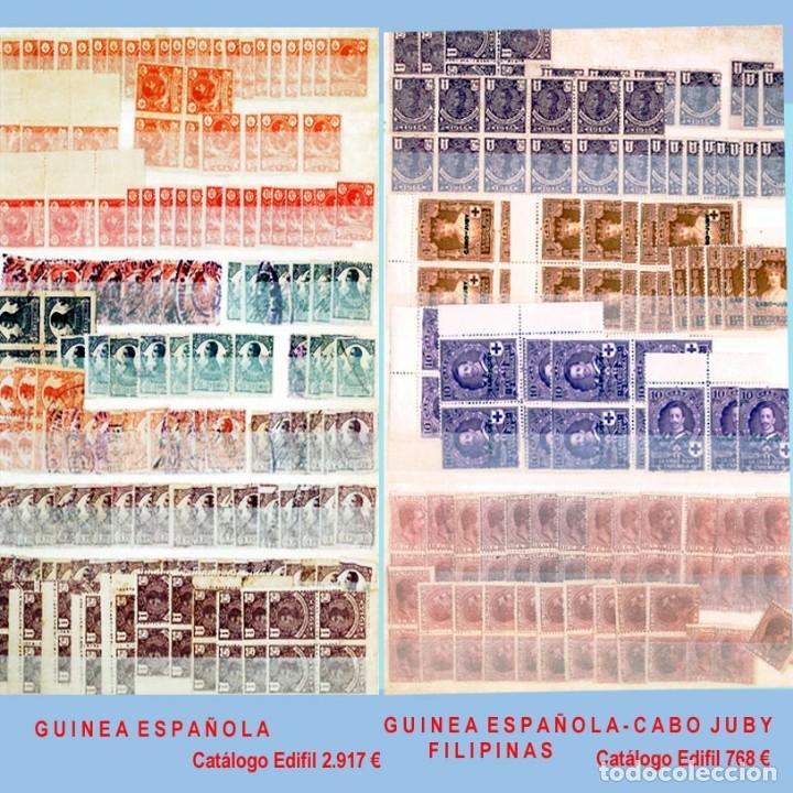 Sellos: GRAN CLASIFICADOR CON PEQUEÑO STOCK SELLOS y SERIES de EX-COLONIAS ESPAÑOLAS Nuevo-Usado.Catº+36.000 - Foto 7 - 140907726