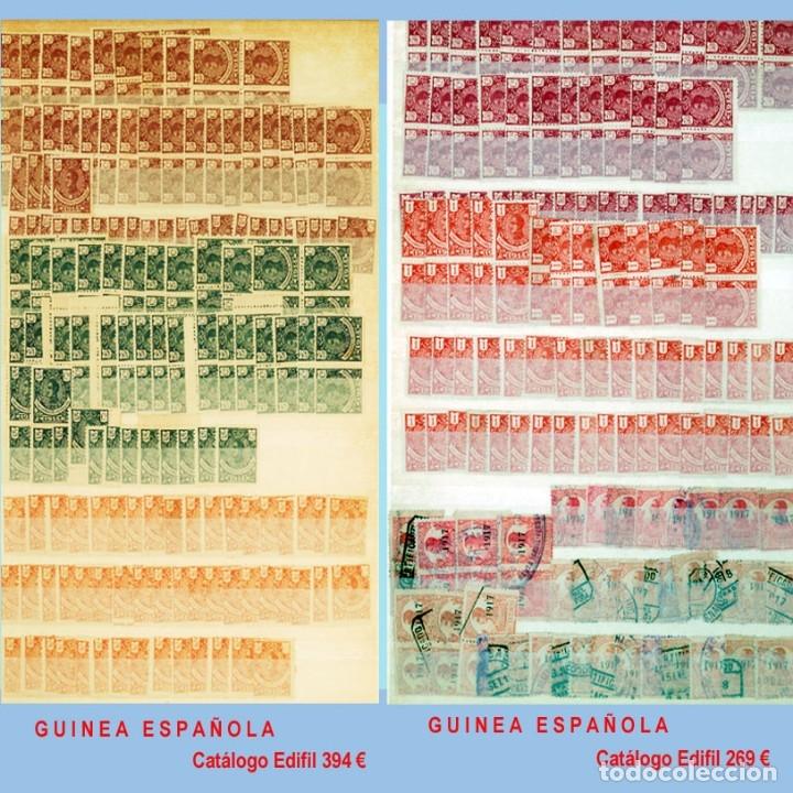 Sellos: GRAN CLASIFICADOR CON PEQUEÑO STOCK SELLOS y SERIES de EX-COLONIAS ESPAÑOLAS Nuevo-Usado.Catº+36.000 - Foto 10 - 140907726