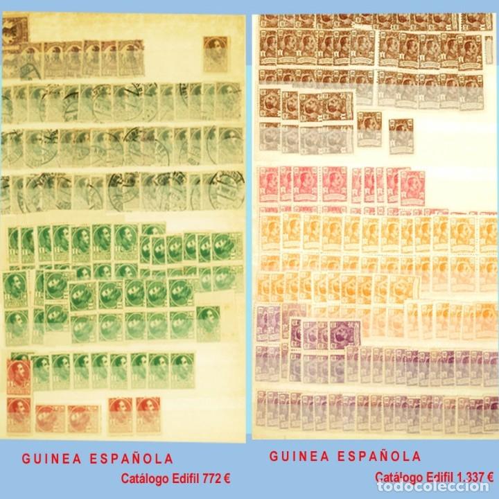 Sellos: GRAN CLASIFICADOR CON PEQUEÑO STOCK SELLOS y SERIES de EX-COLONIAS ESPAÑOLAS Nuevo-Usado.Catº+36.000 - Foto 11 - 140907726