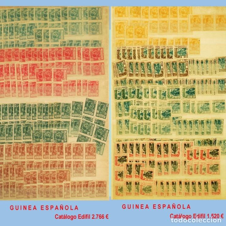 Sellos: GRAN CLASIFICADOR CON PEQUEÑO STOCK SELLOS y SERIES de EX-COLONIAS ESPAÑOLAS Nuevo-Usado.Catº+36.000 - Foto 12 - 140907726