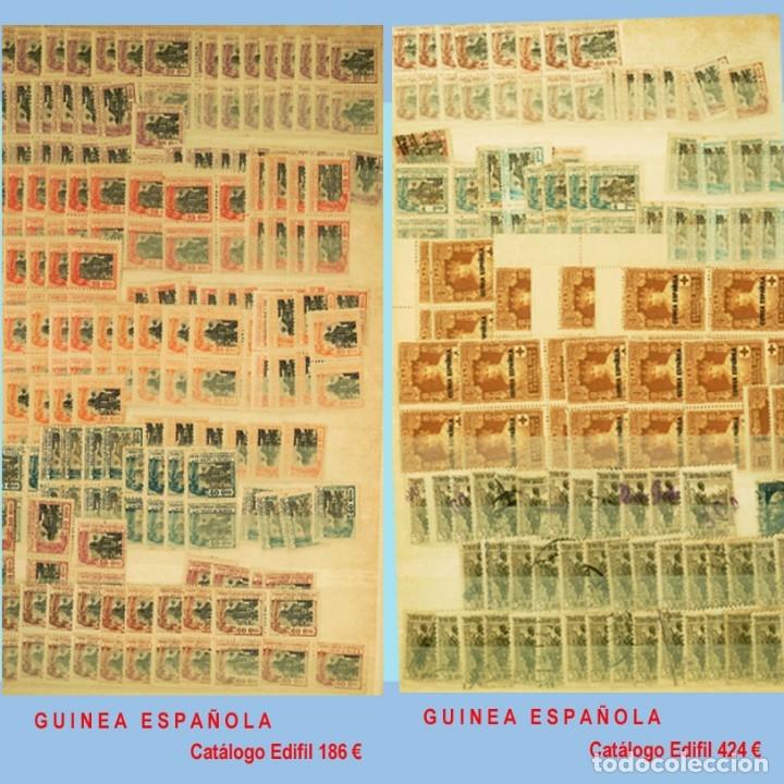 Sellos: GRAN CLASIFICADOR CON PEQUEÑO STOCK SELLOS y SERIES de EX-COLONIAS ESPAÑOLAS Nuevo-Usado.Catº+36.000 - Foto 13 - 140907726