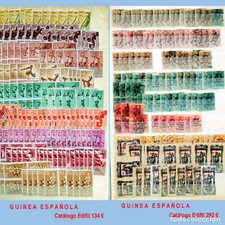 Sellos: GRAN CLASIFICADOR CON PEQUEÑO STOCK SELLOS y SERIES de EX-COLONIAS ESPAÑOLAS Nuevo-Usado.Catº+36.000 - Foto 16 - 140907726