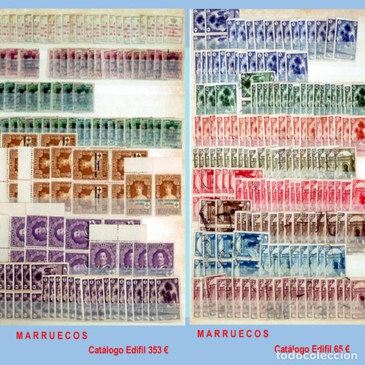 Sellos: GRAN CLASIFICADOR CON PEQUEÑO STOCK SELLOS y SERIES de EX-COLONIAS ESPAÑOLAS Nuevo-Usado.Catº+36.000 - Foto 17 - 140907726