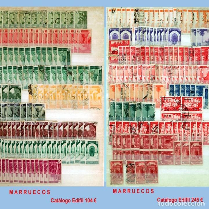 Sellos: GRAN CLASIFICADOR CON PEQUEÑO STOCK SELLOS y SERIES de EX-COLONIAS ESPAÑOLAS Nuevo-Usado.Catº+36.000 - Foto 18 - 140907726