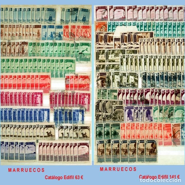 Sellos: GRAN CLASIFICADOR CON PEQUEÑO STOCK SELLOS y SERIES de EX-COLONIAS ESPAÑOLAS Nuevo-Usado.Catº+36.000 - Foto 21 - 140907726