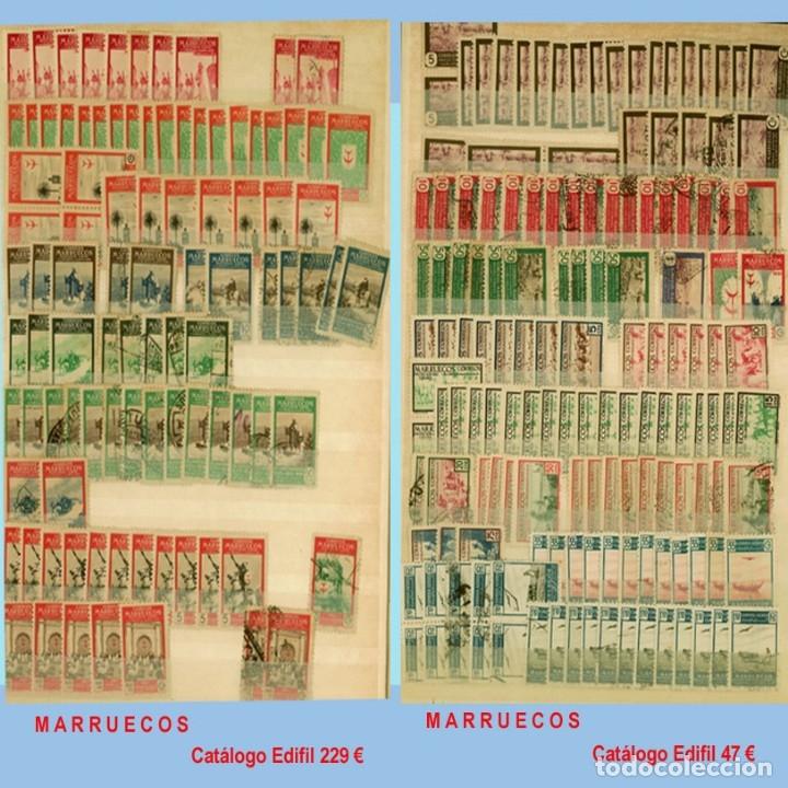 Sellos: GRAN CLASIFICADOR CON PEQUEÑO STOCK SELLOS y SERIES de EX-COLONIAS ESPAÑOLAS Nuevo-Usado.Catº+36.000 - Foto 23 - 140907726