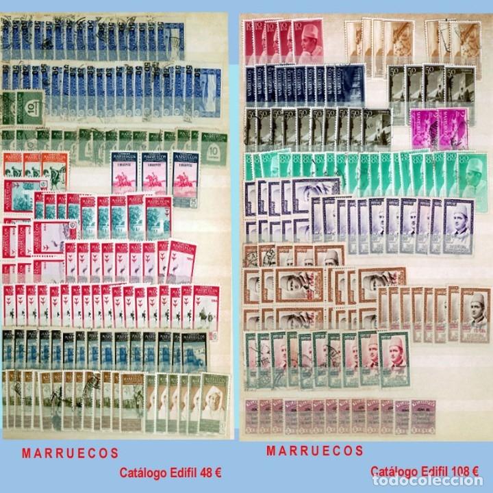 Sellos: GRAN CLASIFICADOR CON PEQUEÑO STOCK SELLOS y SERIES de EX-COLONIAS ESPAÑOLAS Nuevo-Usado.Catº+36.000 - Foto 24 - 140907726