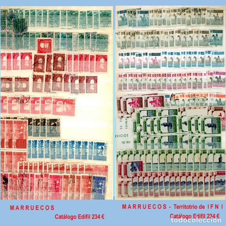 Sellos: GRAN CLASIFICADOR CON PEQUEÑO STOCK SELLOS y SERIES de EX-COLONIAS ESPAÑOLAS Nuevo-Usado.Catº+36.000 - Foto 25 - 140907726