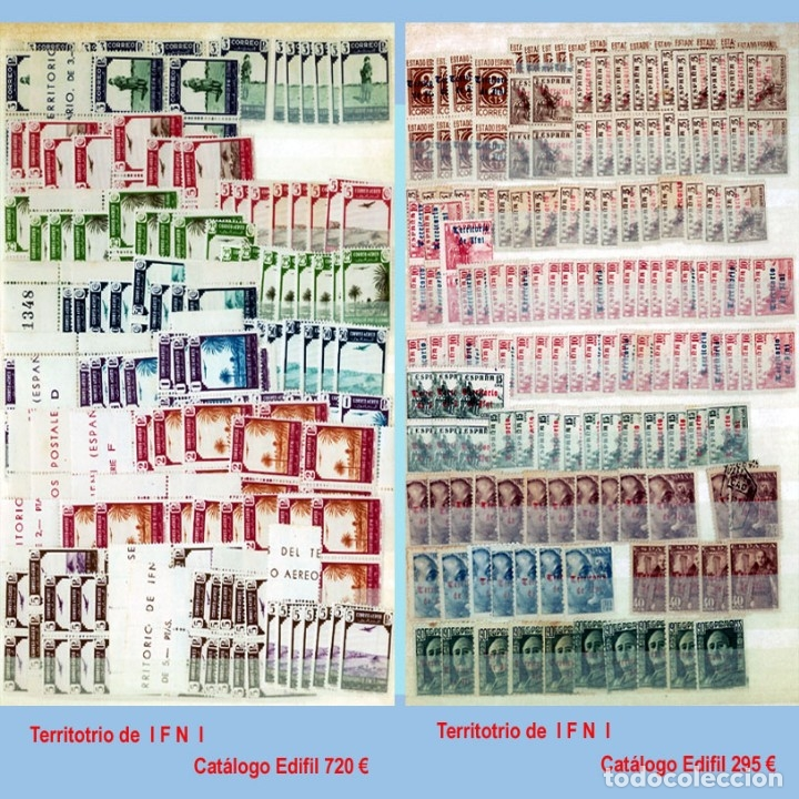 Sellos: GRAN CLASIFICADOR CON PEQUEÑO STOCK SELLOS y SERIES de EX-COLONIAS ESPAÑOLAS Nuevo-Usado.Catº+36.000 - Foto 19 - 140907726