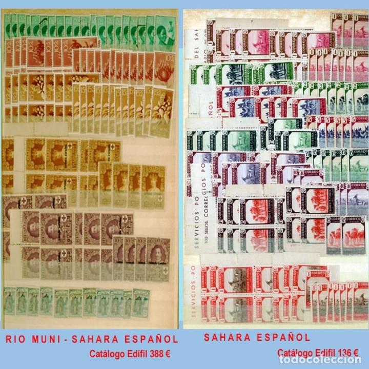 Sellos: GRAN CLASIFICADOR CON PEQUEÑO STOCK SELLOS y SERIES de EX-COLONIAS ESPAÑOLAS Nuevo-Usado.Catº+36.000 - Foto 26 - 140907726
