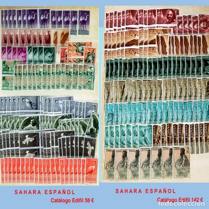 Sellos: GRAN CLASIFICADOR CON PEQUEÑO STOCK SELLOS y SERIES de EX-COLONIAS ESPAÑOLAS Nuevo-Usado.Catº+36.000 - Foto 28 - 140907726