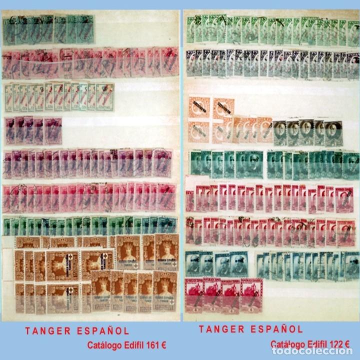 Sellos: GRAN CLASIFICADOR CON PEQUEÑO STOCK SELLOS y SERIES de EX-COLONIAS ESPAÑOLAS Nuevo-Usado.Catº+36.000 - Foto 29 - 140907726