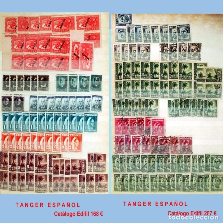 Sellos: GRAN CLASIFICADOR CON PEQUEÑO STOCK SELLOS y SERIES de EX-COLONIAS ESPAÑOLAS Nuevo-Usado.Catº+36.000 - Foto 30 - 140907726
