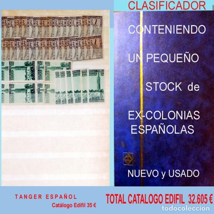 Sellos: GRAN CLASIFICADOR CON PEQUEÑO STOCK SELLOS y SERIES de EX-COLONIAS ESPAÑOLAS Nuevo-Usado.Catº+36.000 - Foto 31 - 140907726